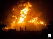 Izgorelo skladište nafte