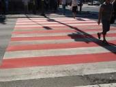 DRASTIČNA PROMENA: Zebre u Nišu postaju crveno-bele