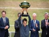 Federerova 15. titula na travi!