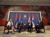 Sastali se Nikolić,Vučić i Dodik