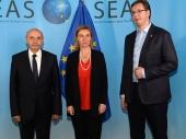 Nova runda: Vučić i Mustafa u Briselu