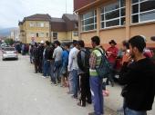 Kroz Preševo dnevno prođe 600 izbeglica