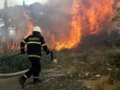 Niš: Požar na stovarištu, nema povređenih