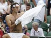 Federer blista, pao i Mari