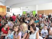 Počela školska godina u Vranju: Gradonačelnik čestitao prvacima