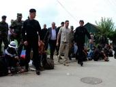 Vulin i Stefanović ponovo sa migrantima