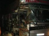 Policijsko zadržavanje za vozača autobusa sa migrantima