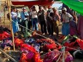 Nesreća u Mjanmaru, 90 poginulih