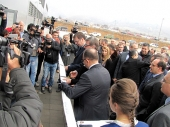 Vučić i Antić otvorili Geox (FOTO)