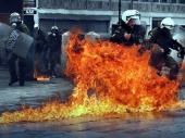 Grčka: Sukobi na protestu!