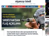 Turska: Sirbistan na naslovnim stranama