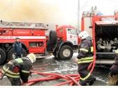 Moskva: Požar u restoranu