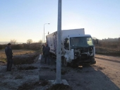 NI: Pijan ukrao kamion pa se slupao!