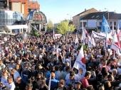 VUČIĆ U VRANJU: Spasićemo jug Srbije (FOTO) (VIDEO)