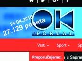 PORTAL OK RADIJA lider juga Srbije