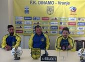 Dinamo kod kuće sa Sinđelićem