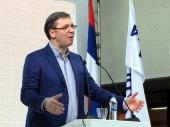 Vučić: Srbija ostaje na evropskom putu