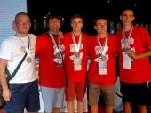 Vranjanci osvojili srebro u Splitu