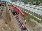 Nastavlja se rekonstrukcija pruge kod Vranja