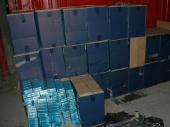 Zaplenjeno 16.000 boksova cigareta!