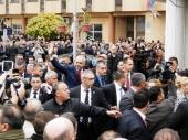 Lideri Albanaca u Beogradu sa RAMOM