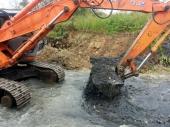 Počelo čišćenje reke kod deponije