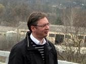 Vučić pušta prugu u Banji