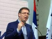 Vučić polaže venac u Grdeličkoj klisuri