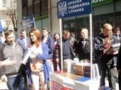 Radikali delili Šešeljeve knjige u Vranju