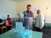Gradonačelnik Milenković glasao