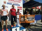 Jagodina: KRISTIJAN prvi među 500 maratonaca