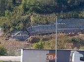 KORIDOR: Urušio se zid NA SRED KLISURE