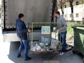 BITKA ZA EKO DINAR: Grad uklonio žičane kontejnere