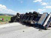 Prevrnuo se kamion kod Preševa