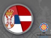 Košarkašice Srbije sa Letonijom za četvrtfinale EP