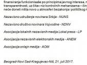 Podrška medijskih udruženja za VRANJSKE i OK RADIO