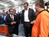 Vučić u Hanu: Temeljac, most i koncert