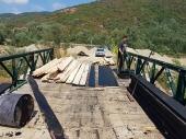 Zamenjene daske na mostu u Mazaraću