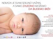 Rotarijanci i Lena Kovačević za pomoć bebama