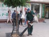 Novi usisivači lišća u Komradu