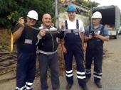 ZMIJA ometala radnike TELEKOMA (FOTO)