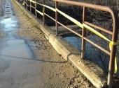 Ukradena ograda sa mosta na Moravi