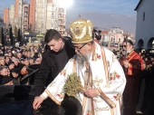 Krst u Vranju okupan za 150.000 dinara (FOTO)