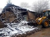 URUŠILA se stara kuća u Mišarskoj