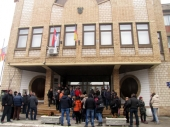 Protest ZAKUPACA ispred Gradske kuće